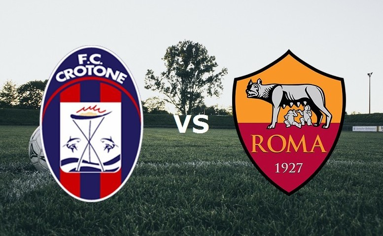 Crotone Roma streaming live gratis. Vede