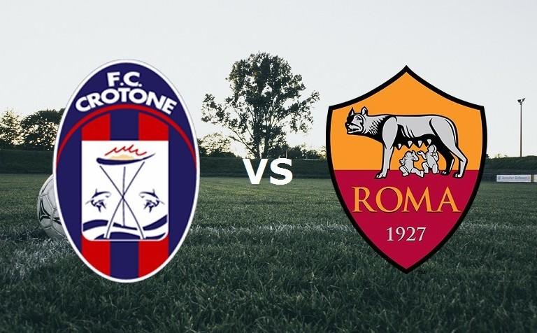 Crotone Roma streaming gratis live per v