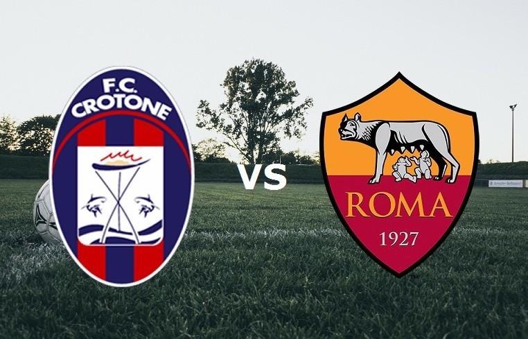 Crotone Roma streaming gratis live su si