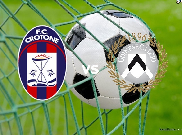 Crotone Udinese streaming in diretta