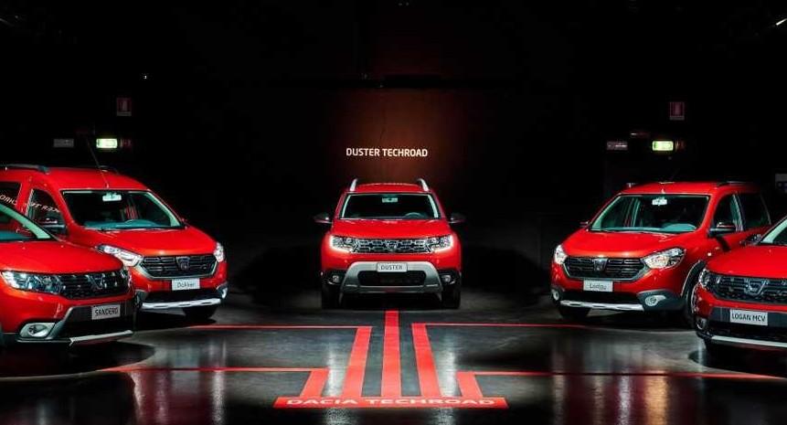 Dacia Techroad versione nuova 2019 per D