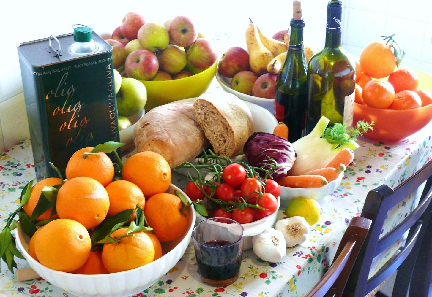 Dieta mediterranea: contro le malattie,