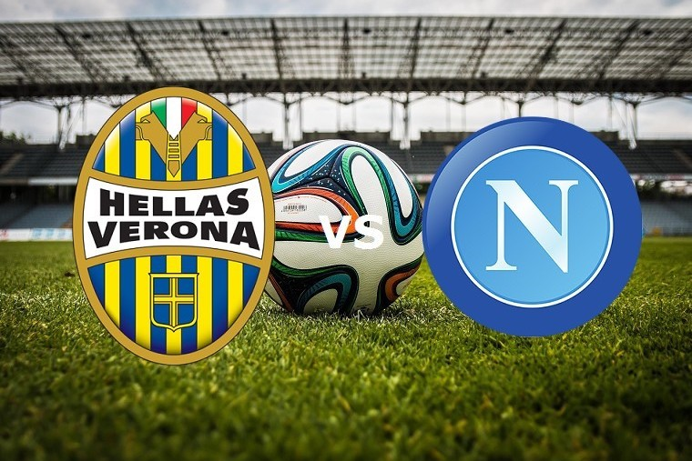 Verona Napoli streaming ora al via live