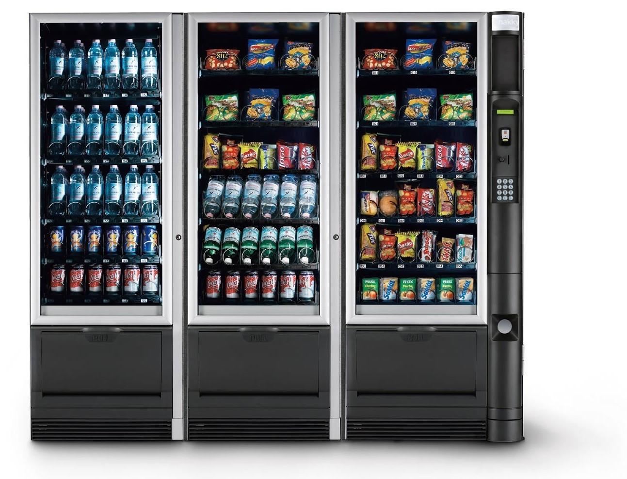 Distributori automatici: consumazioni re