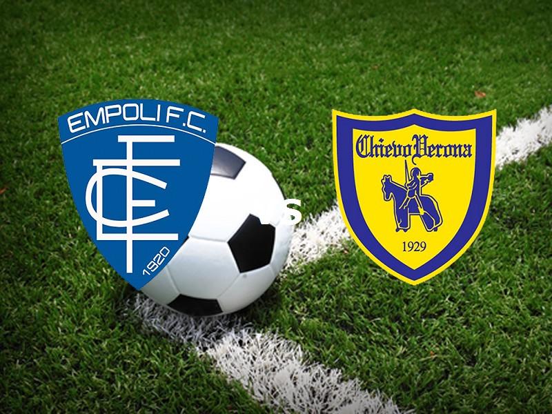 Empoli Chievo streaming live gratis link