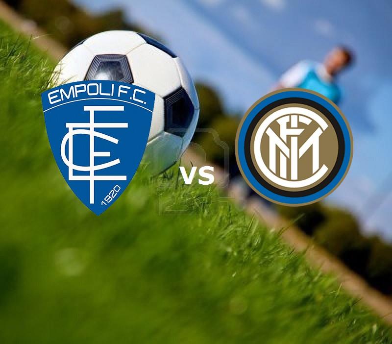 Empoli Inter streaming gratis live. Vede
