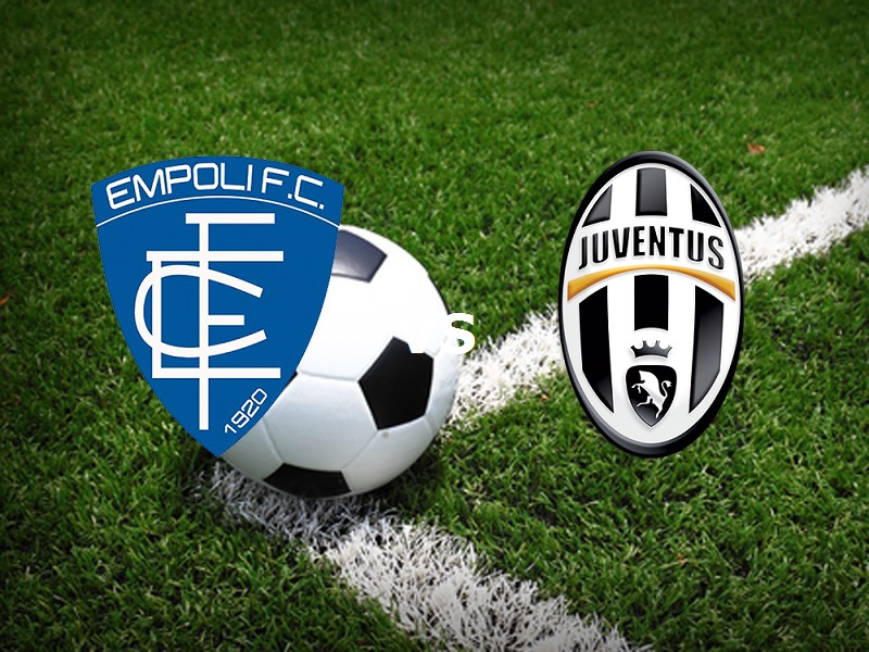 Empoli Juventus streaming siti web. Dove