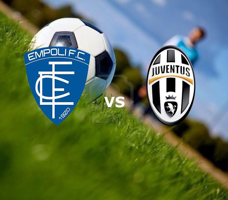 Empoli Juventus streaming live gratis. D