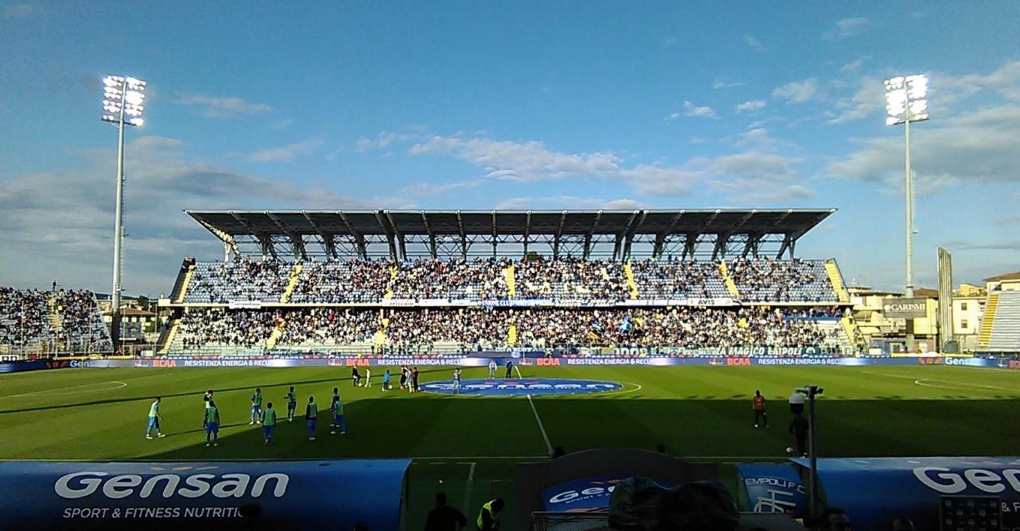 Empoli Juventus streaming gratis su siti