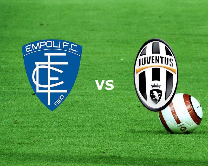 Empoli Juventus streaming gratis live mi