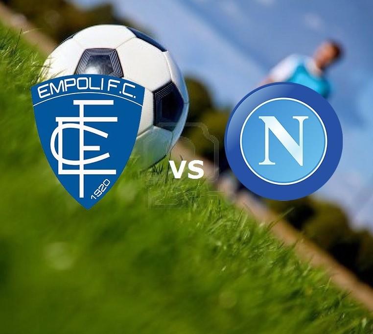 Empoli Napoli streaming gratis live su m