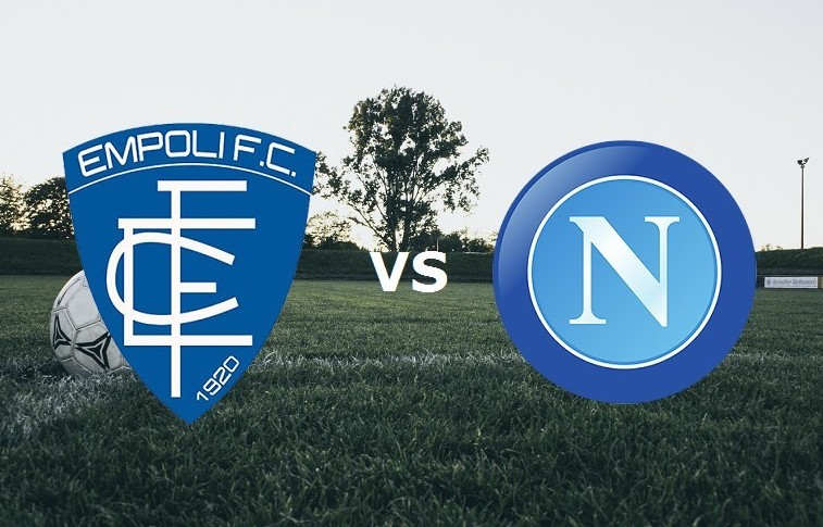 Empoli Napoli streaming gratis live per