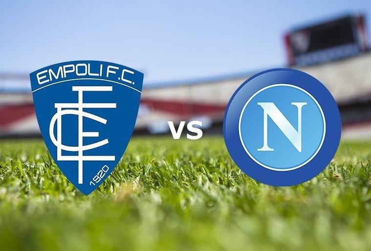Empoli Napoli streaming gratis live. Ved