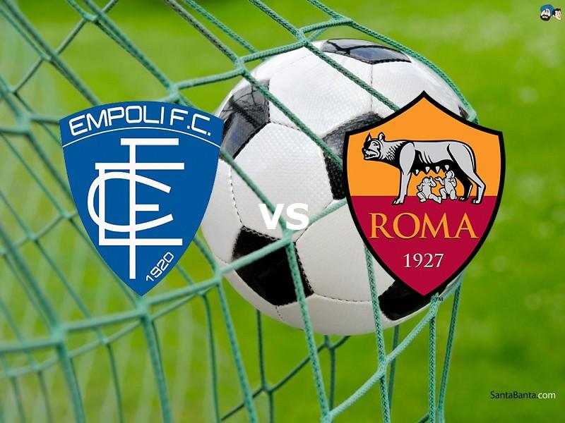 Vedere streaming Empoli Roma. Dove e com