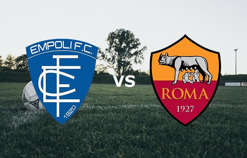 Empoli Roma streaming. Diretta 0-0 (IN A