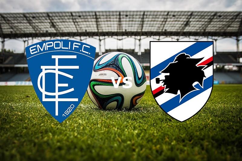 Empoli Sampdoria streaming live gratis.