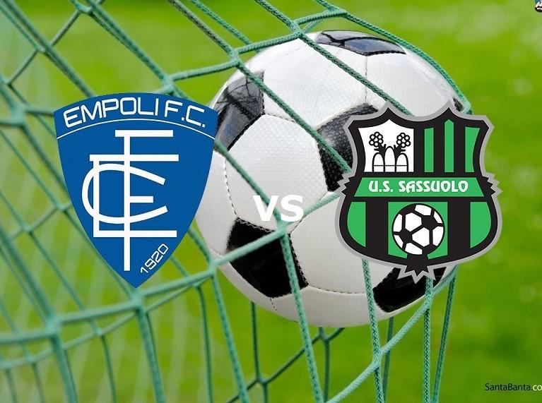 Empoli Sassuolo streaming live gratis. V