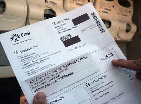 Enel: email con bolletta fasulla e in al