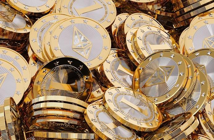 Etheurem e Bitcoin: criptomonete a sette