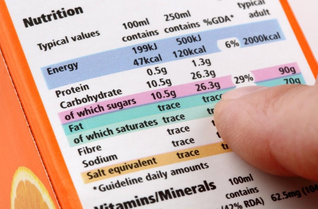 Etichette alimentari, regime sanzionator