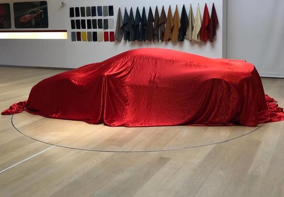 Ferrari modello inedito in onore di Marc