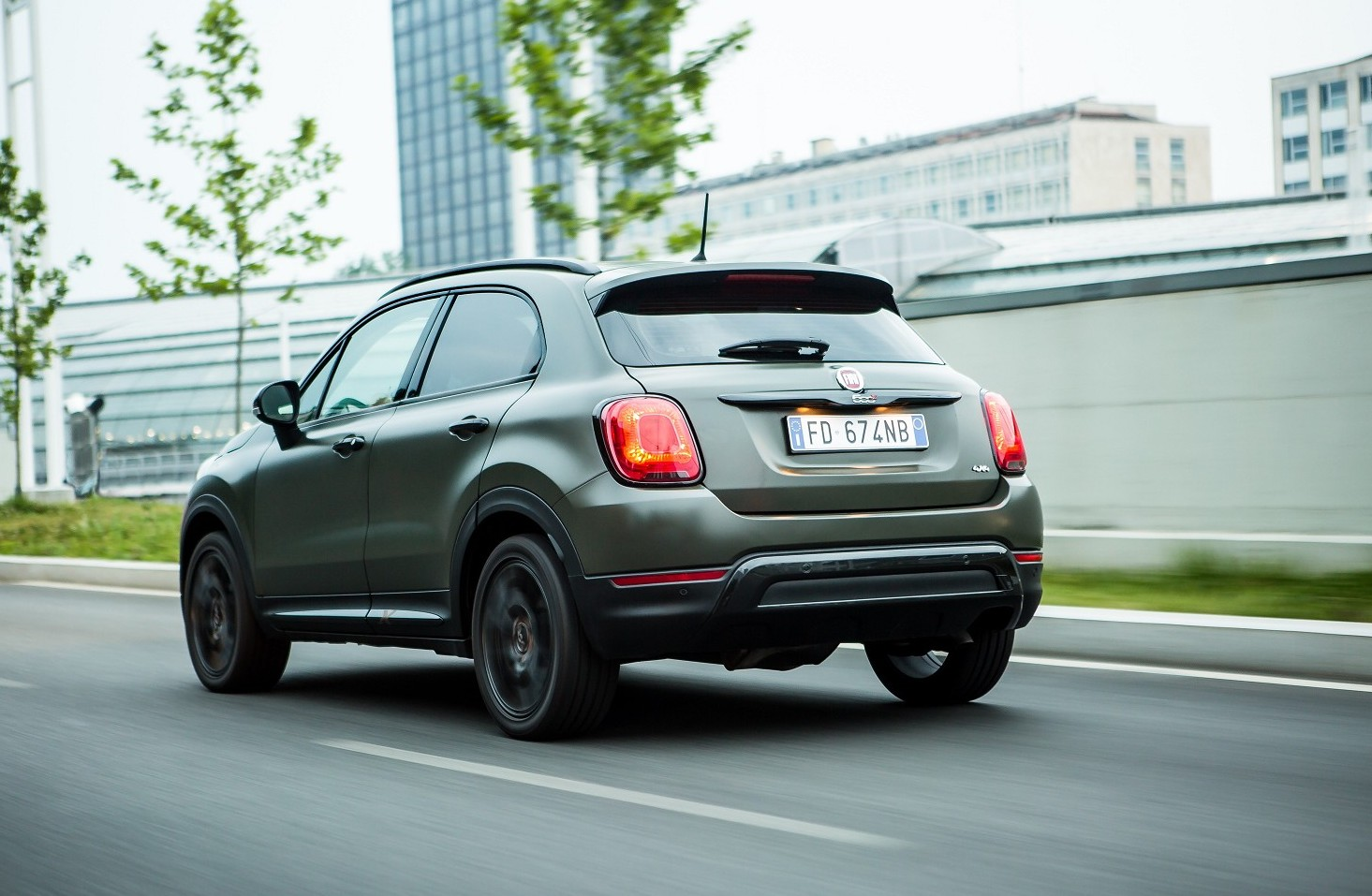 Fiat 500X Cross 4x4 2019 prezzi, motori