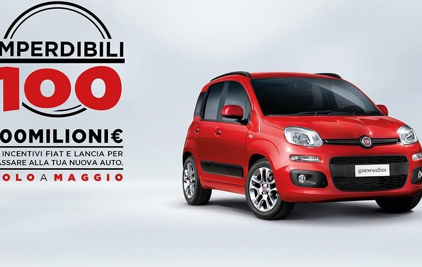Fiat e Lancia, incentivi per Maggio. Com