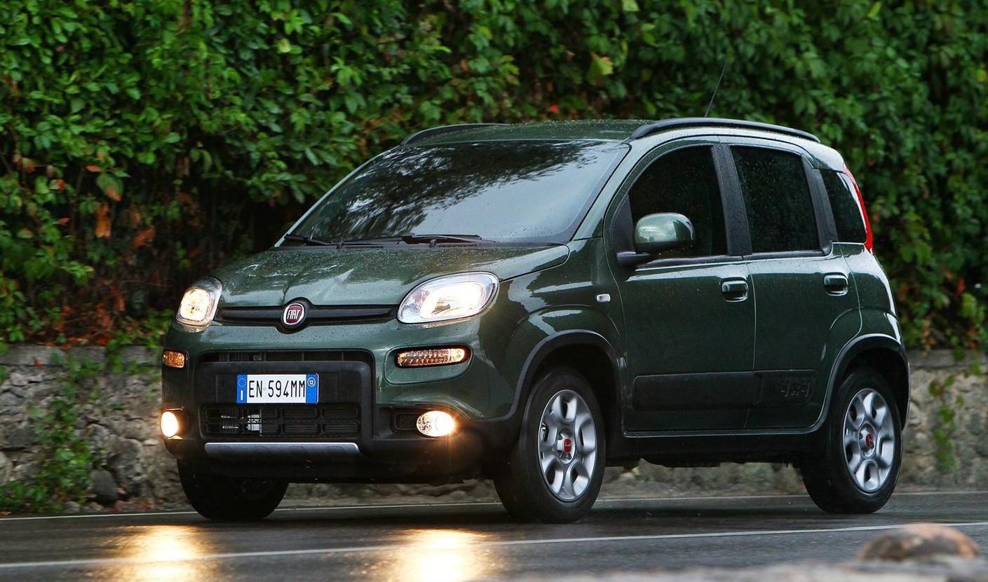 Fiat Panda 4x4 2019 prova su strada, tes