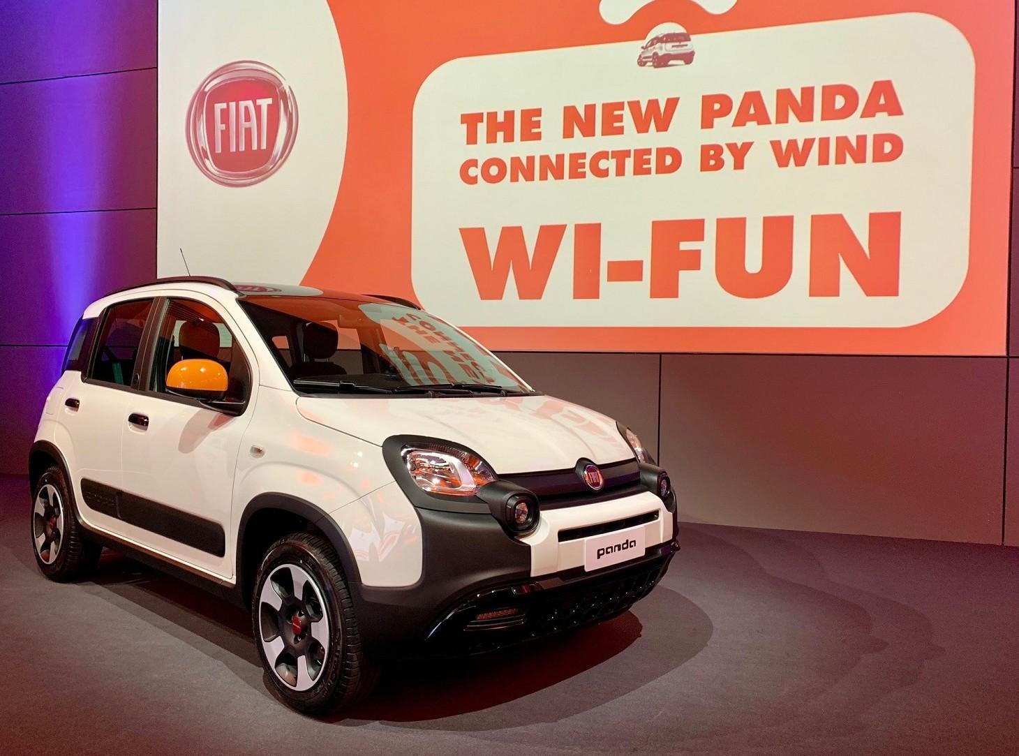 Fiat Panda nuovo modello sempre connesso