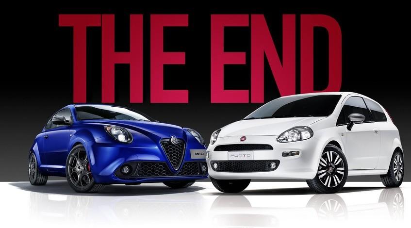 Fiat Punto addio, fine produzione. Ecco