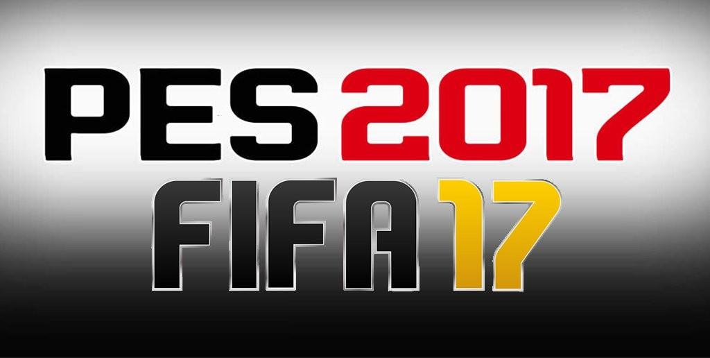 Fifa 17 e Pes 2017: immagini, gameplay.