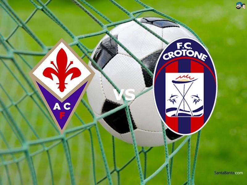 Fiorentina Crotone streaming live gratis
