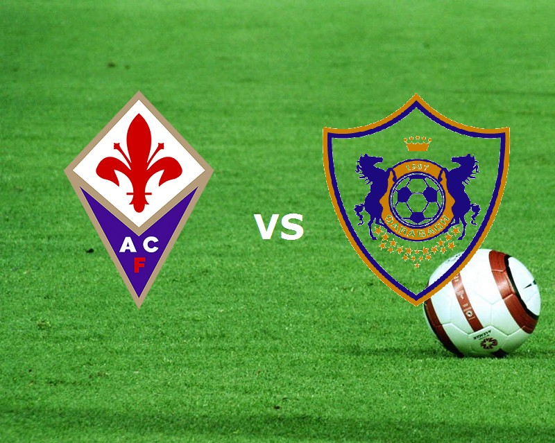 Fiorentina Qarabag streaming. Dove veder