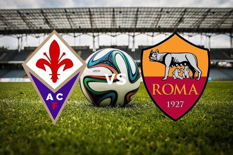 Fiorentina Roma streaming partita Serie
