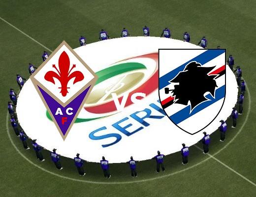 Fiorentina Sampdoria streaming live grat