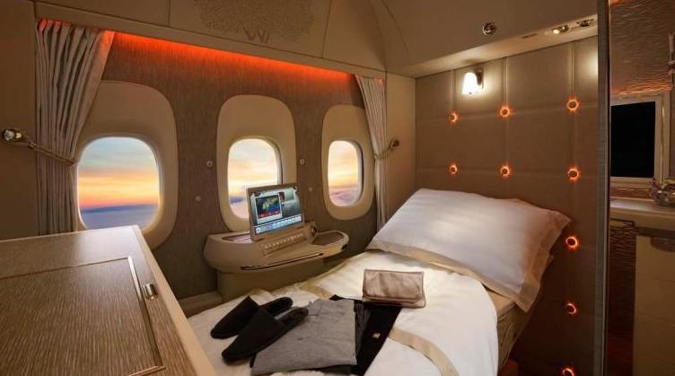 First Class sugli aerei: le più lussuose