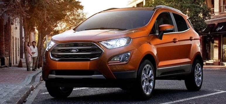 Ford Focus Wagon 2019, Ford Ecosport e F