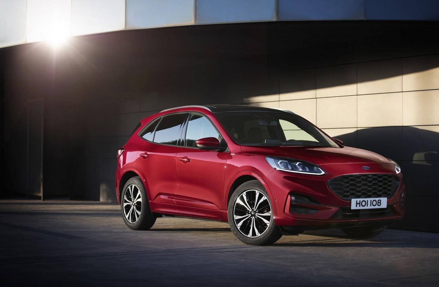 Ford Kuga 2019 nuova versione e tre mode