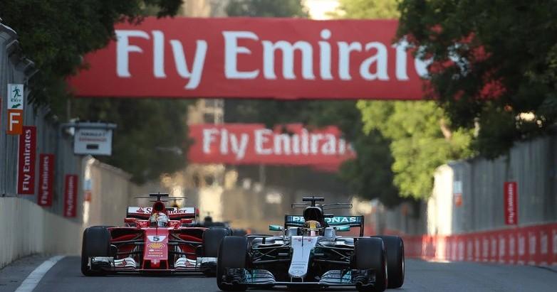 Formula 1 Azerbaijan gara streaming live