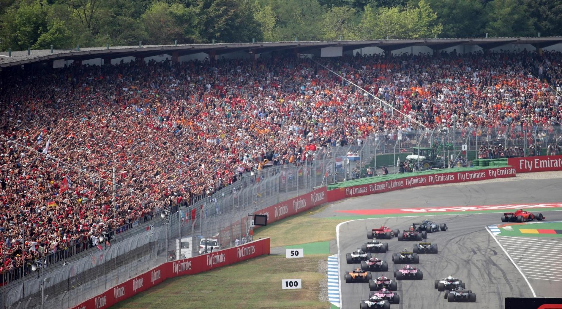 Formula 1 Germania streaming gara gratis