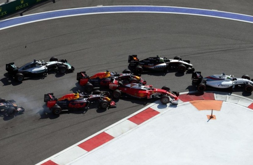 Formula 1 Russia streaming gratis live.