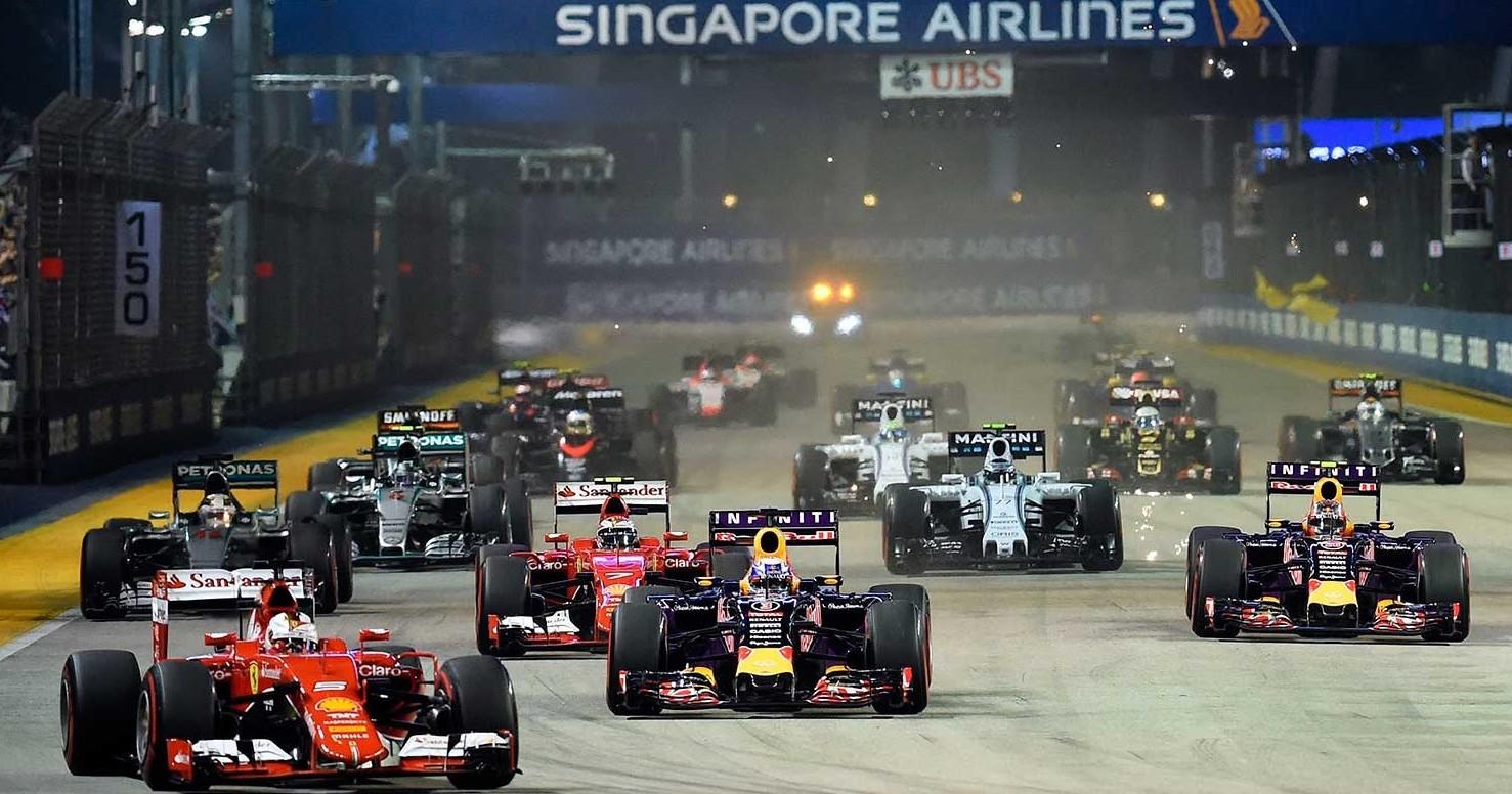 Formula 1 Singapore streaming gratis liv