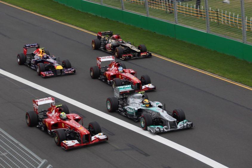 Formula 1 streaming live gratis per vede