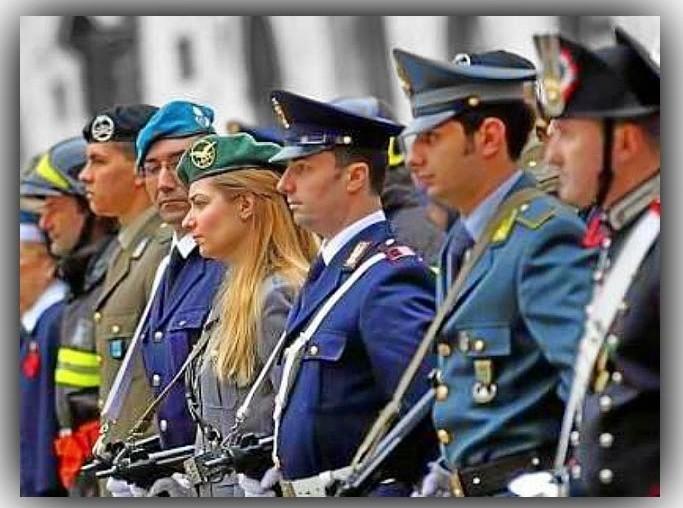 Forze dell'ordine 2017, polizia, cor