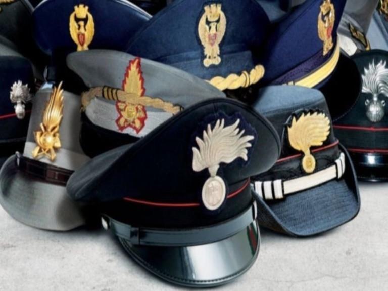 Forze dell'ordine, militari, polizia: bo