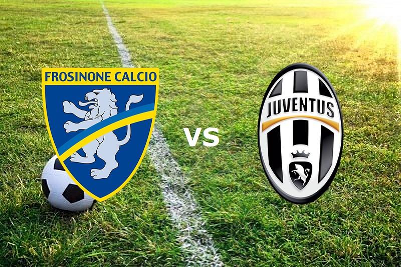 Frosinone Juventus streaming live gratis