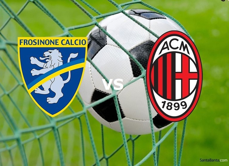 Frosinone Milan streaming live gratis. N