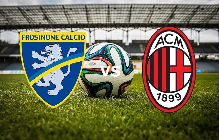 Frosinone Milan streaming gratis su siti