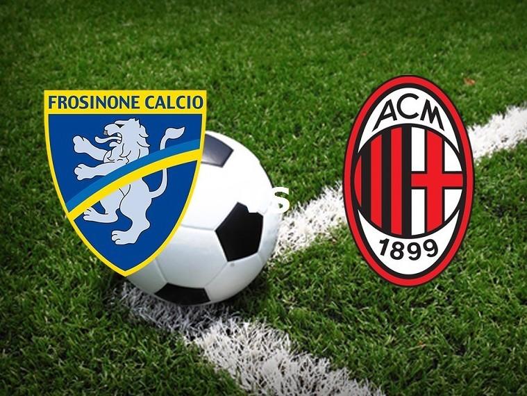 Frosinone Milan streaming live gratis pa