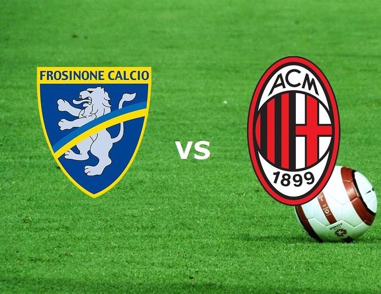 Frosinone Milan streaming live gratis pe
